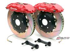 Brembo Front GT BBK Big Brake 4Pot Caliper Red 355x32 Slot Disc Supra 93-98