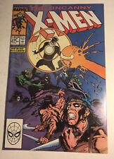Marvel Comics Uncanny X-Men #249 Havok Cover 1989
