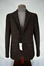 Cappotti, giacche e gilet da uomo marrone cotone