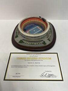 Three Rivers Stadium DANBURY MINT Pittsburgh Steelers W COA