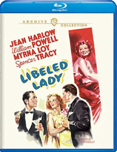 LIBELED LADY / (MOD)-LIBELED LADY / (MOD) Blu-Ray NEUF