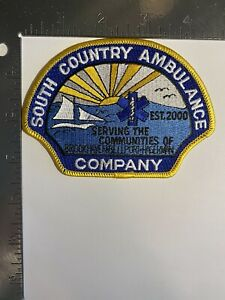 SOUTH COUNTRY AMBULANCE COMPANY NEW YORK PATCH