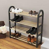 Shoe Rack Storage Organizer 4-Tier