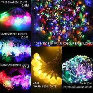 Led Lights String Party Fairy Outdoor 20 x Christmas Waterproof Battery Operated