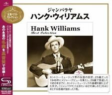HANK WILLIAMS-HANK WILLIAMS BEST SELECTION-JAPAN SHM-CD E50