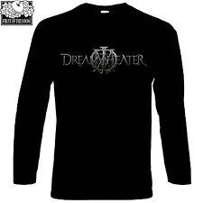 Dream Theater LOGO FRUIT OF THE LOOM BLACK T-SHIR S-XXL long sleeve ROCK