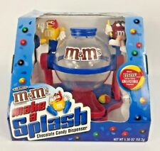 M&M's Make a Splash Limited Edition Collectible Candy Dispenser 040000164395