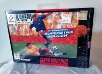 RARE International Superstar Soccer Deluxe Super Nintendo SNES 1995 COMPLETE