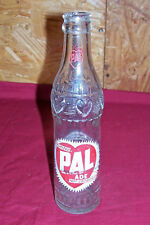 Old Soda Pop Bottle Pasteurized PAL ADE Vintage 7 Ounce Oz Chocolate Milk Dairy
