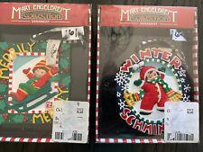 New listing New Lot of 2 Kurt S Adler Mary Engelbreit Christmas Ornaments Children Merrily