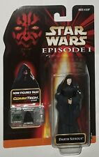 Hasbro Star Wars: Episode 1 - Darth Sidious new sealed mosc I commtech