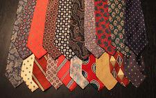 Lot of 20 Designer Vintage or Vintage-Look Neck Ties L054