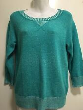 J. CREW Turquoise  sweater Size S