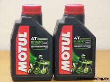 7,25€/l Motul 5100 4T 15W-50  2 x 1 Ltr halbsyn Premium Motoröl