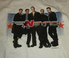 NSYNC Justin Timberlake - 2000 Kids/Woman's White Long Sleeve Shirt Medium