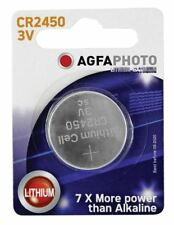 Agfa Lithium Button Cells Blister of 1 (Type CR2450)