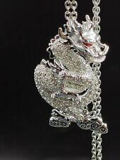 "Swarovski Dragon Pendant with 16"" + 2"" Chain 1124113 Brand New"
