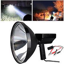 9 Inch 100W 12V HandHeld HID Spotlight Driving Lights Hunting Search light 6000K