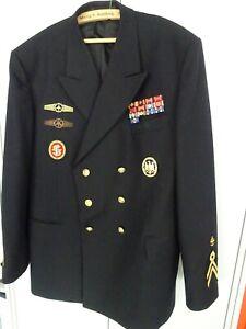 Bundeswehr Uniform Jacke Marine-Flieger Stabsbootsmann mit allen Abzeichen