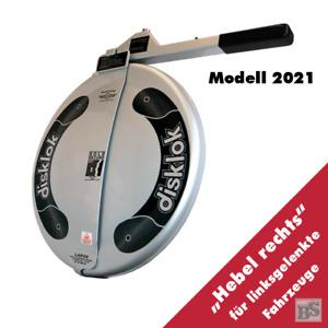 BS-Disklok L 440 SILBER 2021 Lenkradkralle - Lenkrad-Ø von 41,1-43,5 cm
