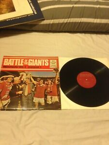 MANCHESTER UNITED V LIVERPOOl 1977 F.A.CUP FINAL LP RECORD TOMMY DOCHERTY GIANTS
