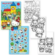 Hello Kitty Colorante Book & Hoja Pegatina-escuela