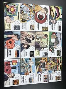 US 4748 Modern Art in America (set of 12) First Day Cover 2013 Collins Covers.