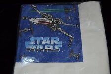 Vintage 1990's STAR WARS Party Paper Napkins SPACE SHIPS Hallmark 16-3 PLY NIP