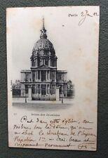 CPA. PARIS. 75. Dôme des Invalides. 1902.