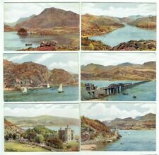 Barmouth Estuary And Cader Idris Wales Railway Vintage Landscape Photo Poster