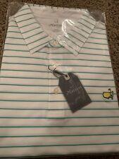 2020 Masters Tech Augusta National White/Green 3XL XXXL Golf Shirt NEW in Pack
