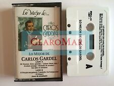 ☀ CARLOS GARDEL Lo Mejor de Cassette El Dia Que Me Quieras Mi Buenos Aires RARE