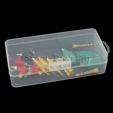 Transparent Clear Collection Storage Portable Durable Container Tool Box Case
