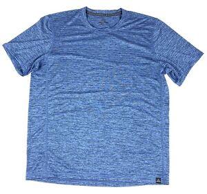 PrAna Mens Large Hardesty Performance Tshirt Quick Dry Anti Odor Recycled Knit