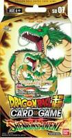 Dragon Ball Super Card Game Shenron's Advent Starter Deck SEALED SD07