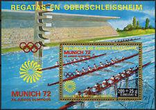 Equatorial Guinea 1972 Olympic Rowing Cto Used M/S #E4055