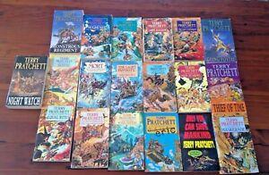 Terry Pratchett 19 Book Bundle Discworld + Others Lot 2 (2021)
