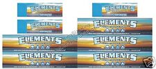 Elements King Size Rolling Papers Slim And Element Perforated Roach Tips