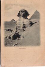 POST CARD  EGYPT  EGITTO LE SPHINX  CAIRO PRIMI 900