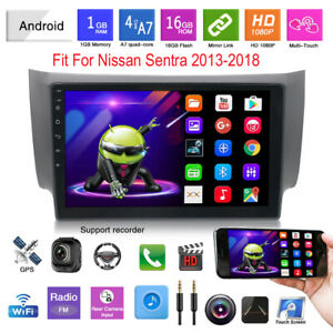 """10.1"""" Android 9.1 Car GPS Mirror Link USB Bluetooth Fit For Nissan Sentra 13-18"""