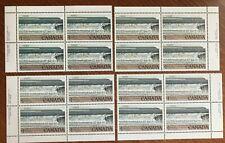 Canada #726a 1979 National Parks $1 Fundy Plate 2, 4 corner blocks MNH