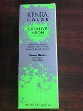 KENRA COLOR CREATIVE NEON COLOR NEON GREEN 2 OZ Free Shipping