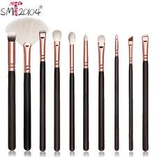 10 Stk Professionell Kosmetik Make-up Werkzeug Pinsel Set Pulver Lidschatten
