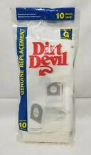Dirt Devil 3010347001 3010348001 Vacuum Bags for Hand Vac Bag Type G (10 Bags)