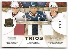 08/09 THE CUP TRIOS GAME USED PATCH #CJ3HNT Heatley/Nash/Toews #2/10 2CLR