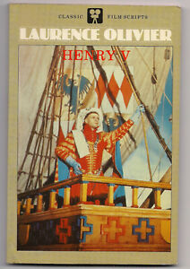 HENRY V CLASSIC FILM SCRIPTS LAURENCE OLIVIER 1984 MOVIE-TIE-IN TP