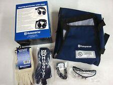 [HUS] [531307181] Husqvarna Chain Saw Protective Apparel Chaps Visor Gloves