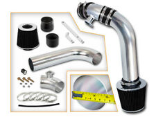 BCP BLACK 92-98 BMW E36 3-Series I6 Cold Air Intake Induction Kit + Filter