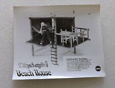 MEGO SALESMAN SAMPLE B&W PHOTO OF THE DINAH-MITE BEACH HOUSE
