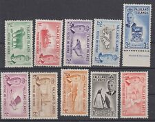 FALKLAND IS.1952 sel. to 1s3d-mint hinged